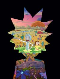 Gallery Image of The Art of Rick and Morty Volume 2 (Deluxe Edition) Book