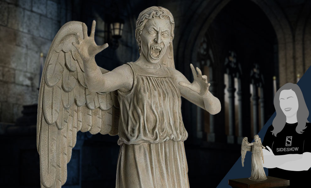 Gallery Feature Image of Weeping Angel (Mega) Figurine - Click to open image gallery
