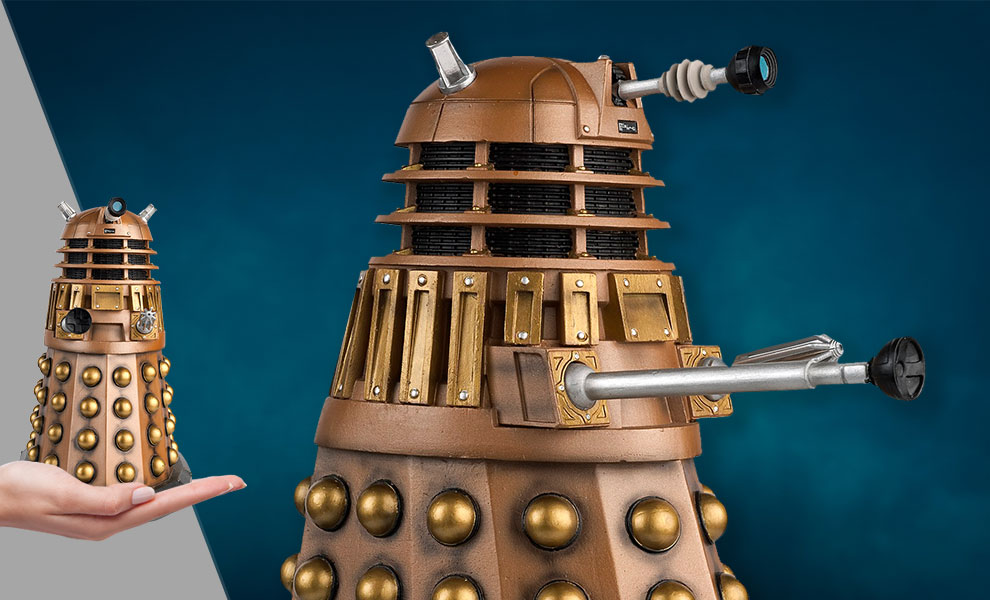Gallery Feature Image of Bronze Dalek (Mega) Figurine - Click to open image gallery