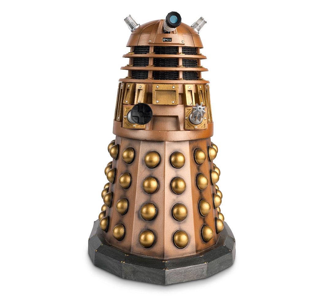 23CM Bronze Dalek Eaglemoss Doctor Who Figurine Collection Mega Edition