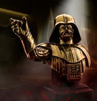 Gallery Image of Darth Vader (Gilt) Bust Pewter Collectible