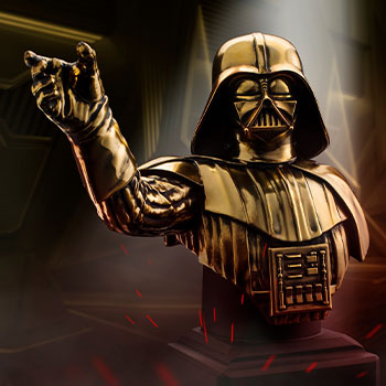 Darth Vader (Gilt) Bust Pewter Collectible