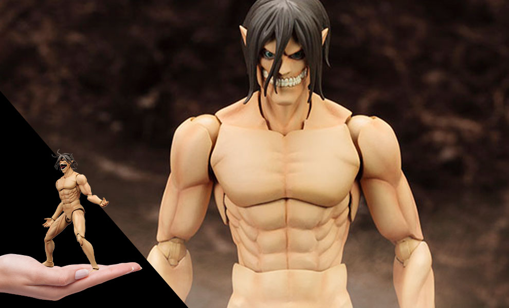 Gallery Feature Image of Eren Yeager Model Kit - Click to open image gallery