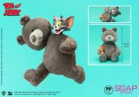 Gallery Image of Tom and Jerry Plush Teddy Bear (Charcoal Gray) Collectible Figure