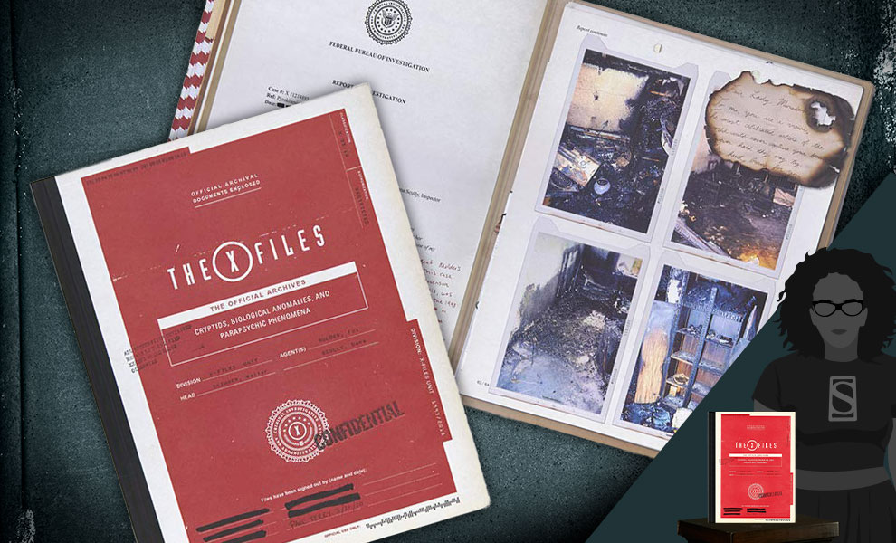 Gallery Feature Image of The X-Files: The Official Archives Book - Click to open image gallery