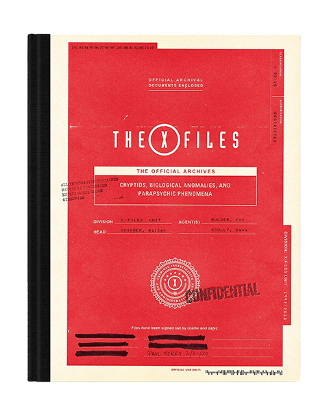 Abrams Books The X-Files: The Official Archives Book
