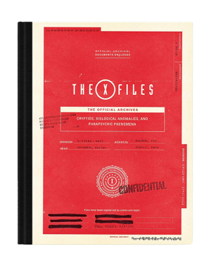 The X-Files: The Official Archives Book