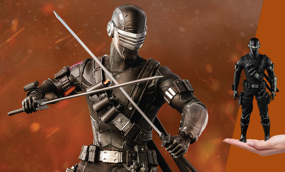 Gallery Feature Image of Snake Eyes Sixth Scale Figure - Click to open image gallery