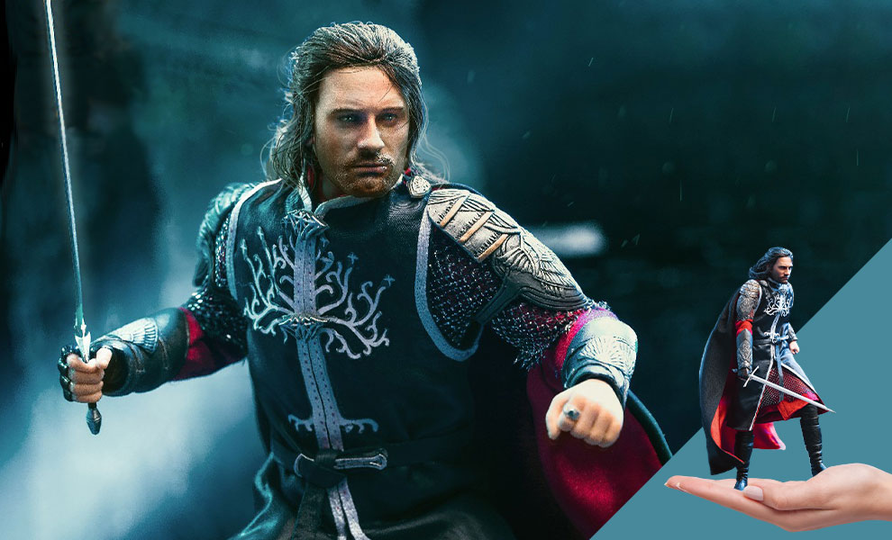 Gallery Feature Image of Aragorn 2.0 King (Deluxe Version) Collectible Figure - Click to open image gallery