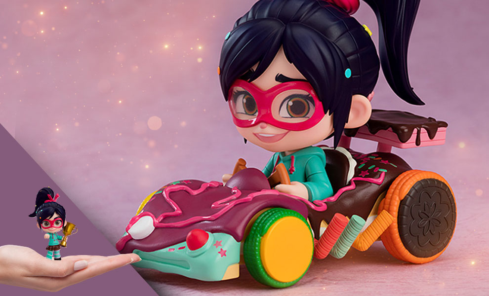 Gallery Feature Image of Vanellope DX Nendoroid Collectible Figure - Click to open image gallery