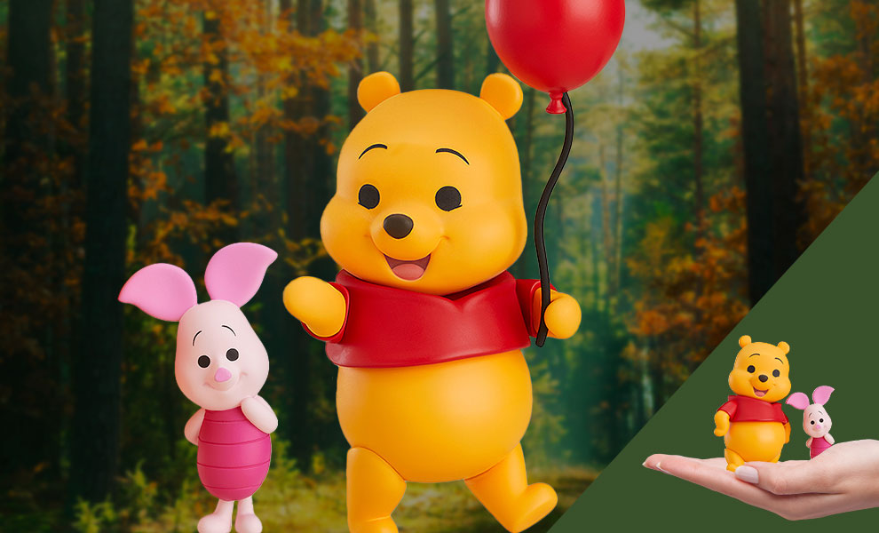 Gallery Feature Image of Winnie the Pooh and Piglet Nendoroid Collectible Figure - Click to open image gallery