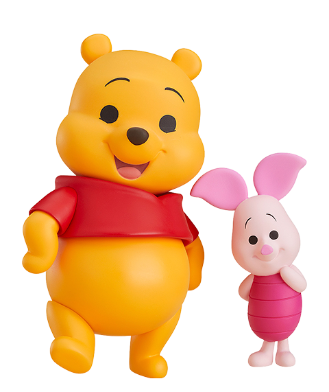 Good Smile Company Winnie the Pooh and Piglet Nendoroid Collectible Figure