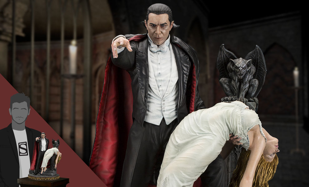 Gallery Feature Image of Bela Lugosi as Dracula Statue - Click to open image gallery