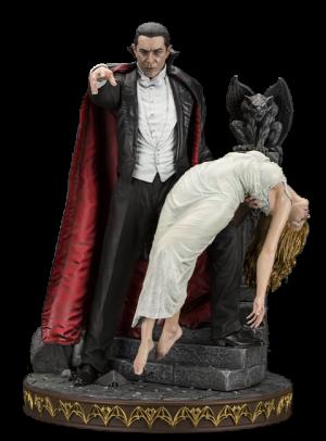 Bela Lugosi as Dracula Statue