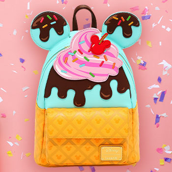 Mickey and Minnie Sweets Ice Cream Mini Backpack Apparel