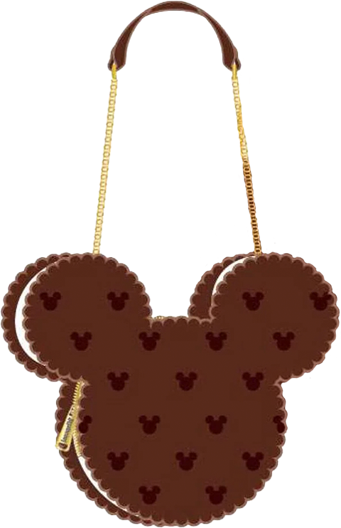 Loungefly Mickey Mouse Ice Cream Sandwich Crossbody Apparel