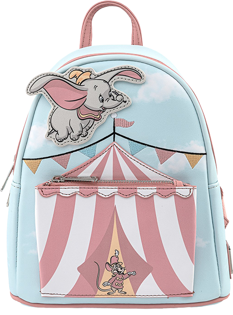 Loungefly Dumbo Flying Circus Tent Mini Backpack Apparel