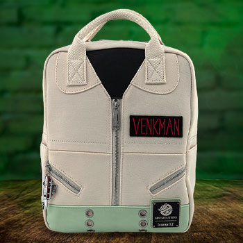 Venkman Cosplay Square Canvas Backpack Apparel