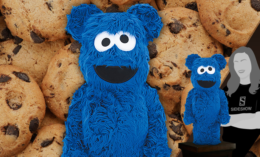 Gallery Feature Image of Be@rbrick Cookie Monster (Costume Version) 1000% Collectible Figure - Click to open image gallery