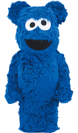Be@rbrick Cookie Monster (Costume Version) 1000% Collectible Figure