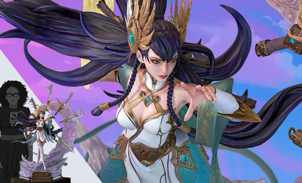 Gallery Feature Image of Irelia (Divine Sword Irelia) Statue - Click to open image gallery