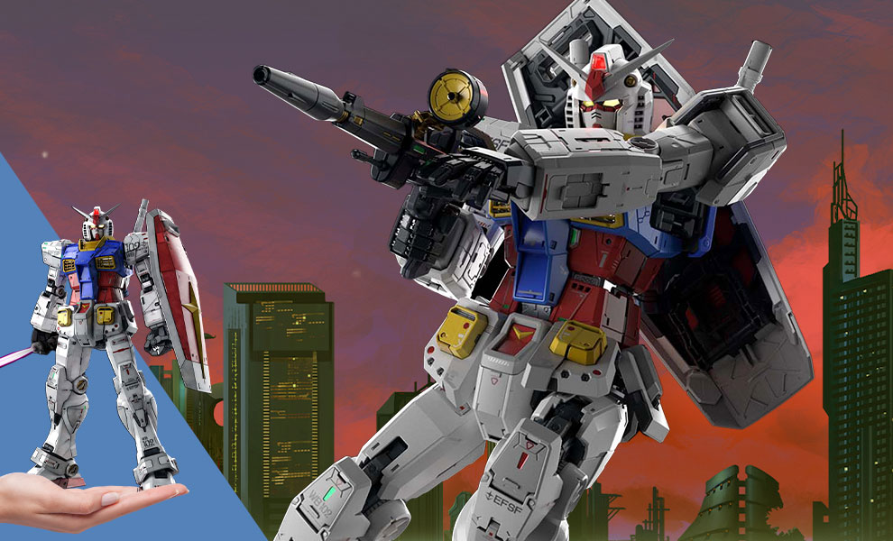 Gallery Feature Image of RX-78-2 Gundam PG Unleashed Model Kit - Click to open image gallery