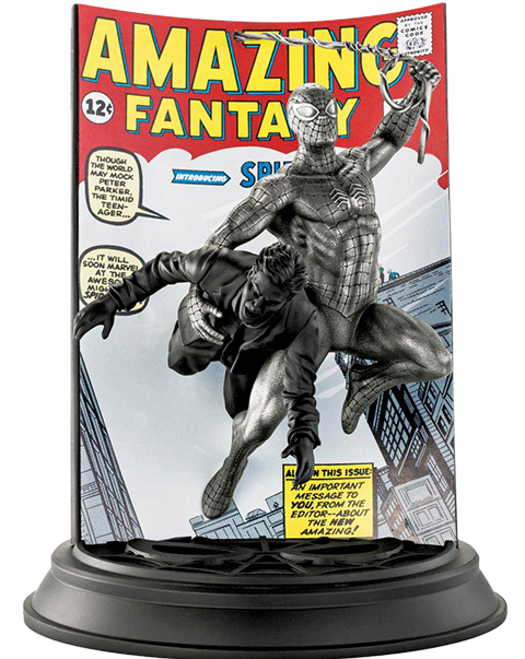 Royal Selangor Spider-Man Amazing Fantasy #15 (Satin) Pewter Collectible