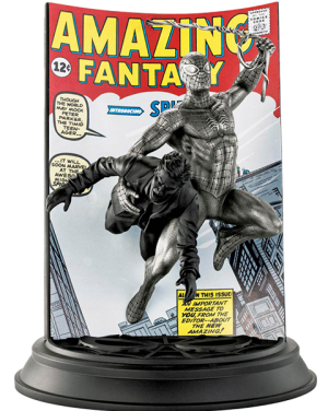 Spider-Man Amazing Fantasy #15 (Satin) Pewter Collectible