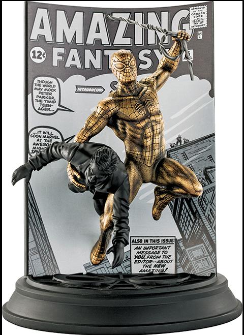 Royal Selangor Spider-Man Amazing Fantasy #15 (Gilt Edition) Pewter Collectible