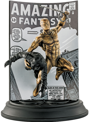 Spider-Man Amazing Fantasy #15 (Gilt Edition) Pewter Collectible