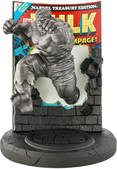 Royal Selangor The Hulk Classic Cover (Satin) Pewter Collectible