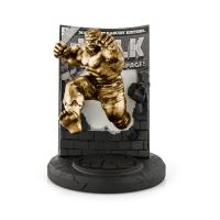 Gallery Image of The Hulk Classic Cover (Gilt Edition) Pewter Collectible