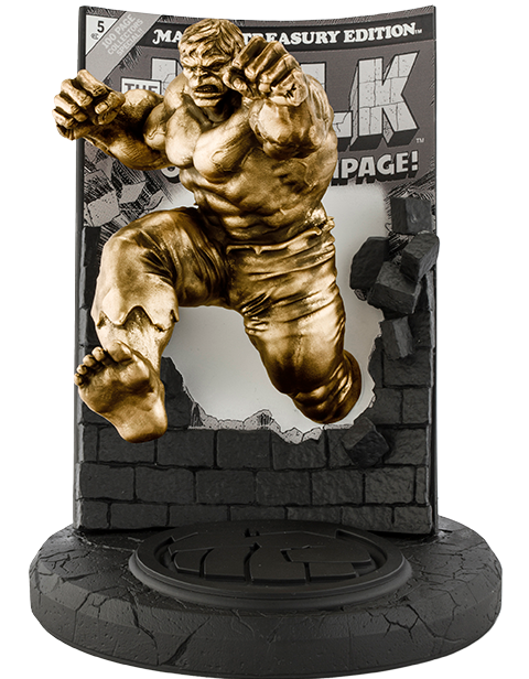 Royal Selangor The Hulk Classic Cover (Gilt Edition) Pewter Collectible