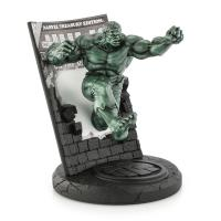 Gallery Image of The Hulk Classic Cover (Green Edition) Pewter Collectible