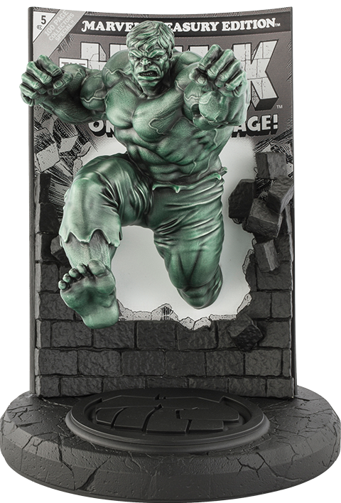 Royal Selangor The Hulk Classic Cover (Green Edition) Pewter Collectible