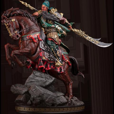 Infinity Studio Three Kingdoms Generals Guan Yu Statue