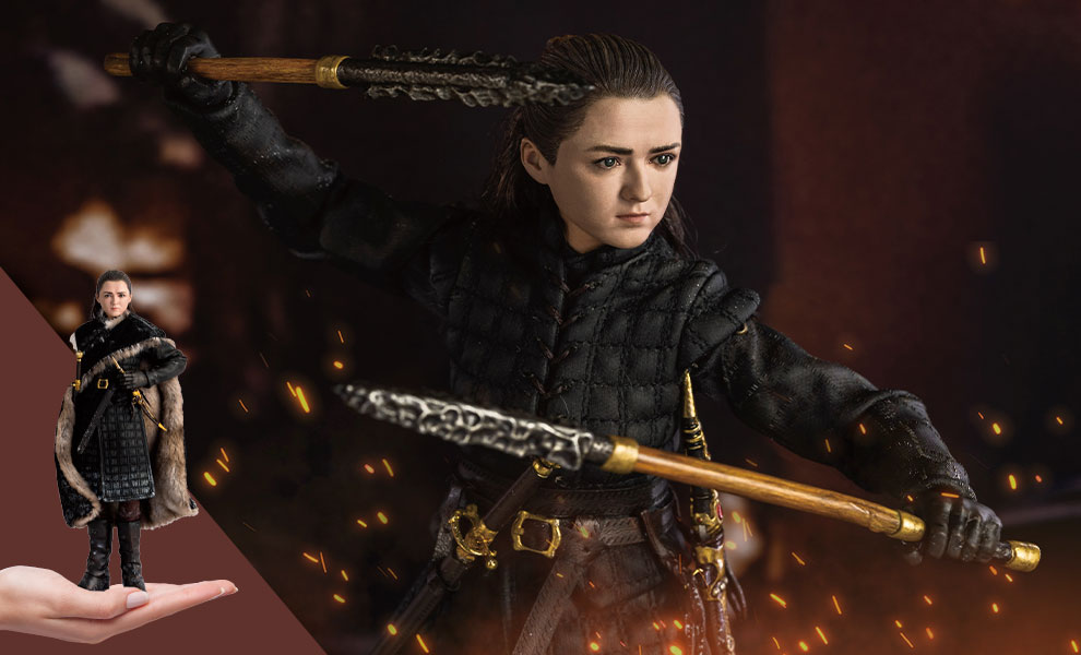 Gallery Feature Image of Arya Stark (Season 8) Sixth Scale Figure - Click to open image gallery
