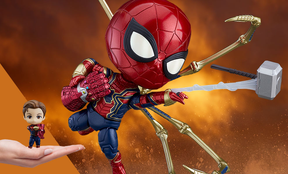 Gallery Feature Image of Iron Spider: Endgame Version DX Nendoroid Collectible Figure - Click to open image gallery