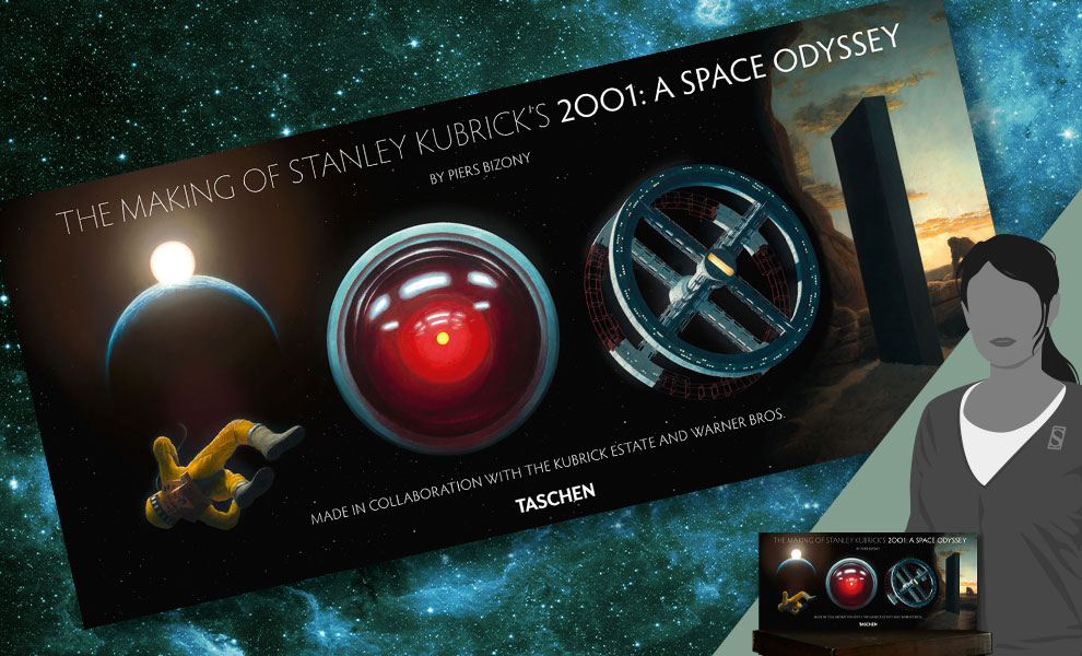 Gallery Feature Image of The Making of Stanley Kubrick's '2001: A Space Odyssey' Book - Click to open image gallery
