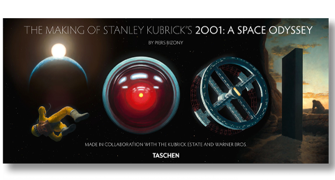TASCHEN The Making of Stanley Kubrick's '2001: A Space Odyssey' Book
