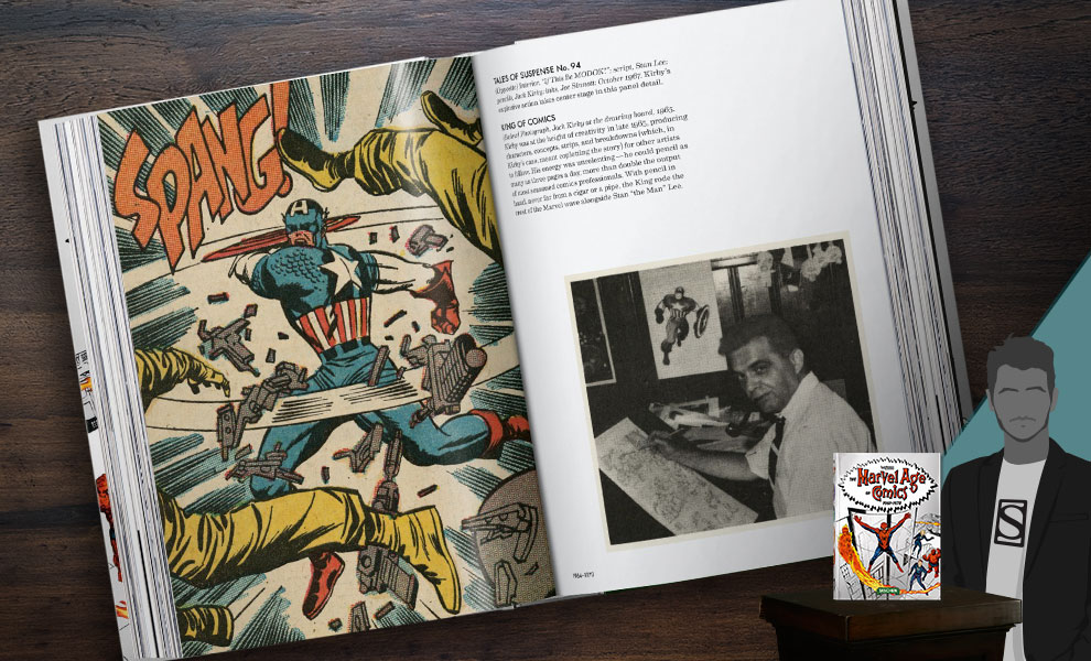 Gallery Feature Image of The Marvel Age of Comics 1961-1978 Book - Click to open image gallery