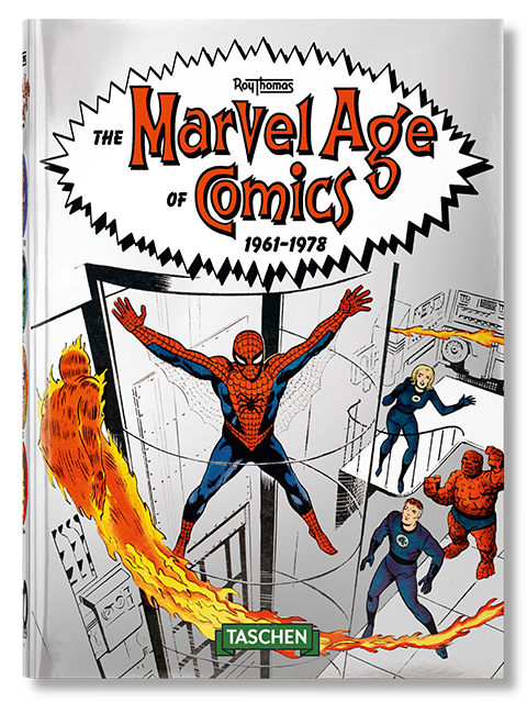 TASCHEN The Marvel Age of Comics 1961-1978 Book