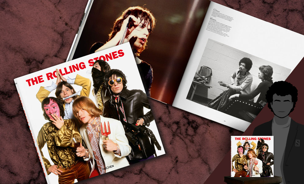 Gallery Feature Image of The Rolling Stones Book - Click to open image gallery