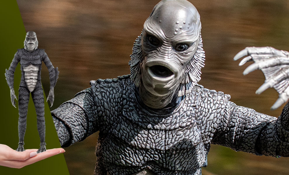 Gallery Feature Image of Creature from the Black Lagoon (Silver Screen Variant) Sixth Scale Figure - Click to open image gallery
