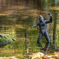 Gallery Image of Creature from the Black Lagoon (Silver Screen Variant) Sixth Scale Figure