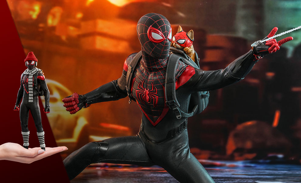 Gallery Feature Image of Miles Morales Sixth Scale Figure - Click to open image gallery