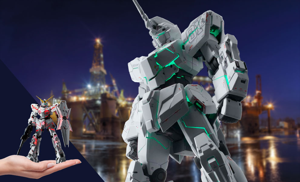 Gallery Feature Image of Unicorn Gundam (Ver.Ka) Collectible Figure - Click to open image gallery