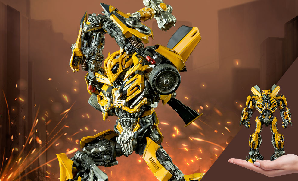 Gallery Feature Image of Bumblebee DLX Collectible Figure - Click to open image gallery