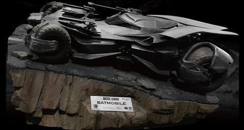 Beast Kingdom Justice League Batmobile Diorama