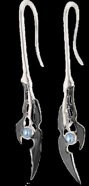 Loki Earrings (Black Rhodium) Jewelry